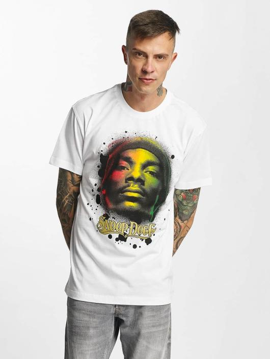 Amplified T-Shirty Snoop Dogg - Rasta bialy