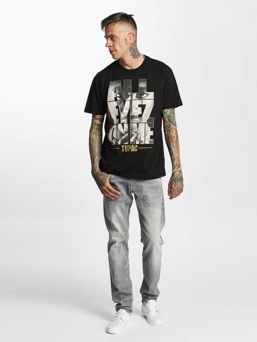 Amplified T-Shirty Tupac - All Eyes On Me czarny