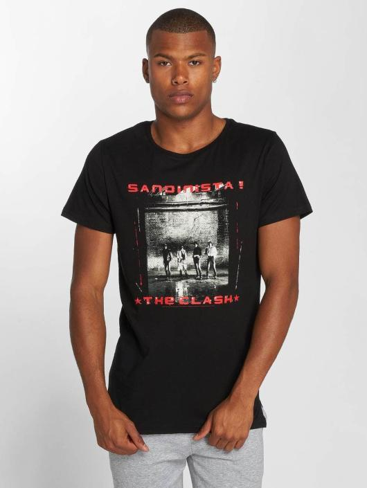 Amplified T-Shirty The Clash Sandanista czarny