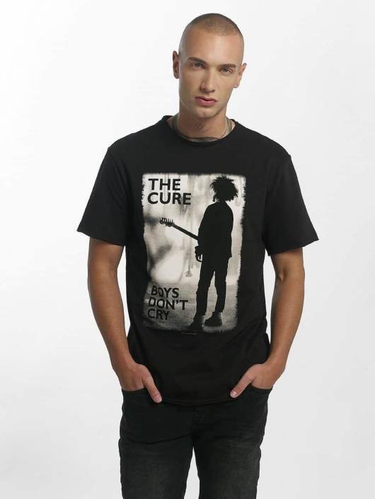Amplified T-Shirty The Cure Boys Don't Cry czarny