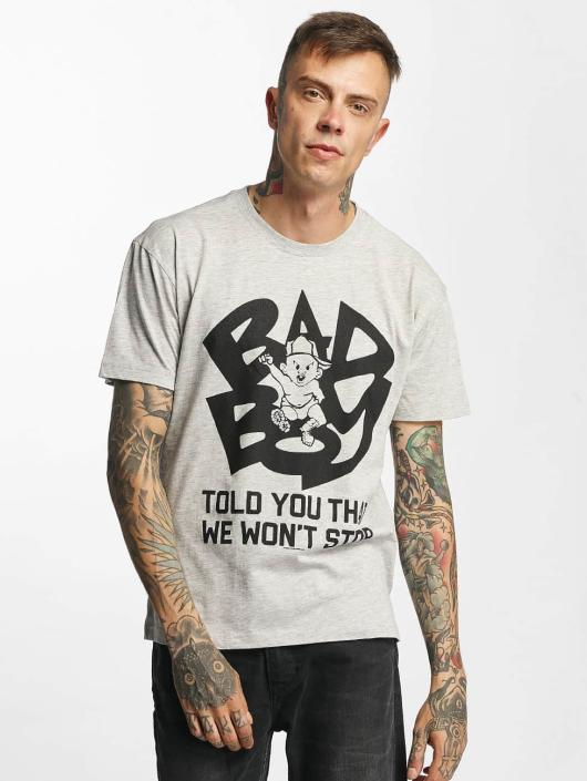 Amplified T-Shirty Bad Boy - Told You That We Wont Stop szary