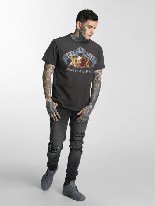 Amplified T-skjorter Guns & Roses Sweet Child Of Mine Angel grå