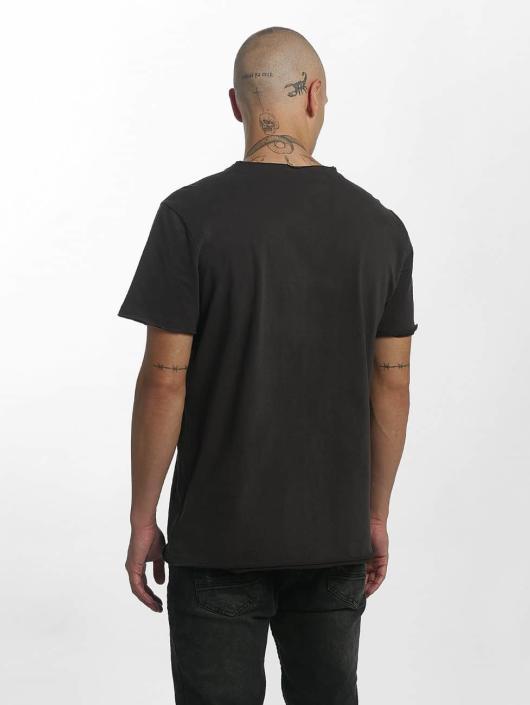 Amplified T-skjorter Pink Floyd On The Run grå