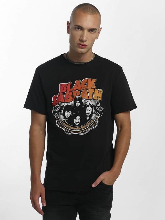 Amplified Tričká Black Sabbath War Pig èierna