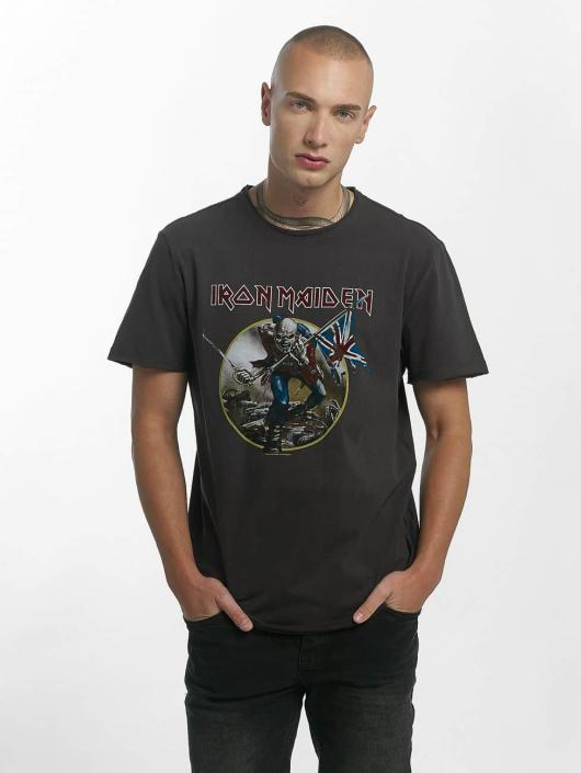 Amplified Tričká Iron Maiden Trooper šedá