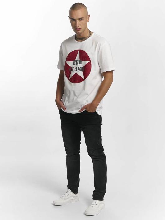 Amplified Tričká The Clash Star Logo biela