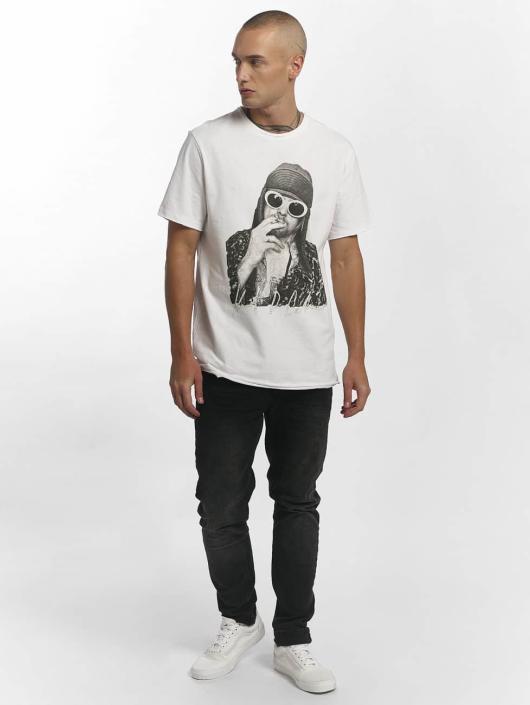 Amplified Tričká Kurt Cobain biela