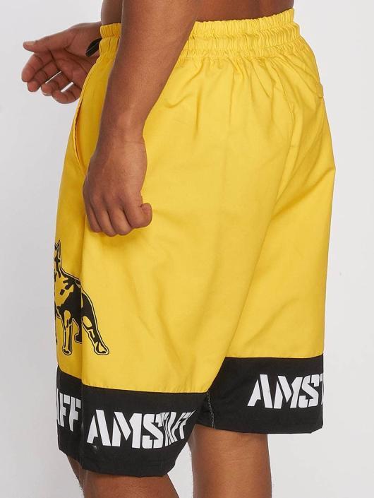 Amstaff Badeshorts Tison gelb