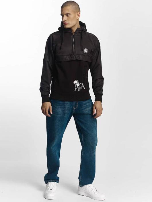 Amstaff Bluzy z kapturem Gecco Reskot czarny