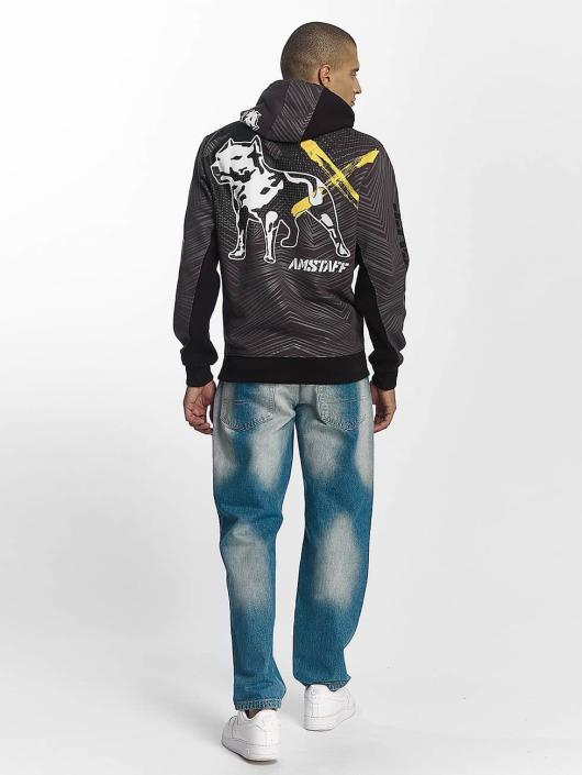 Amstaff Bluzy z kapturem Kenai szary