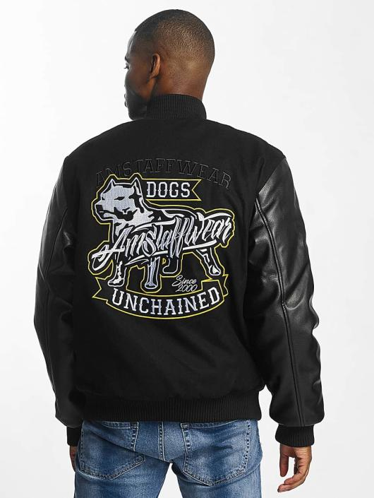 Amstaff College Jackets College czarny