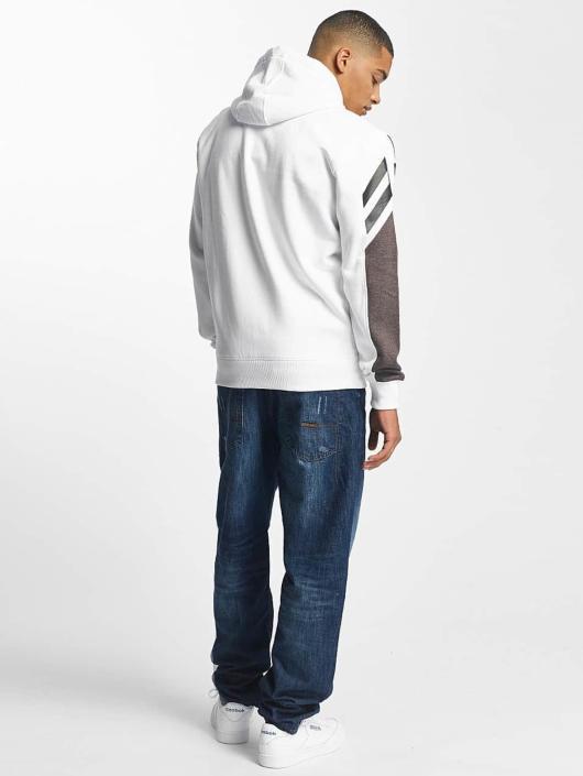 Amstaff Hoodies con zip Kiraz bianco