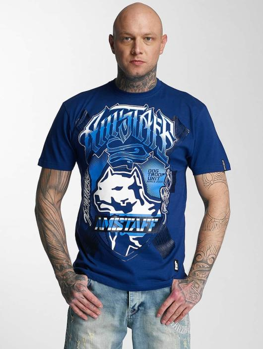 Amstaff T-Shirt Zillus bleu