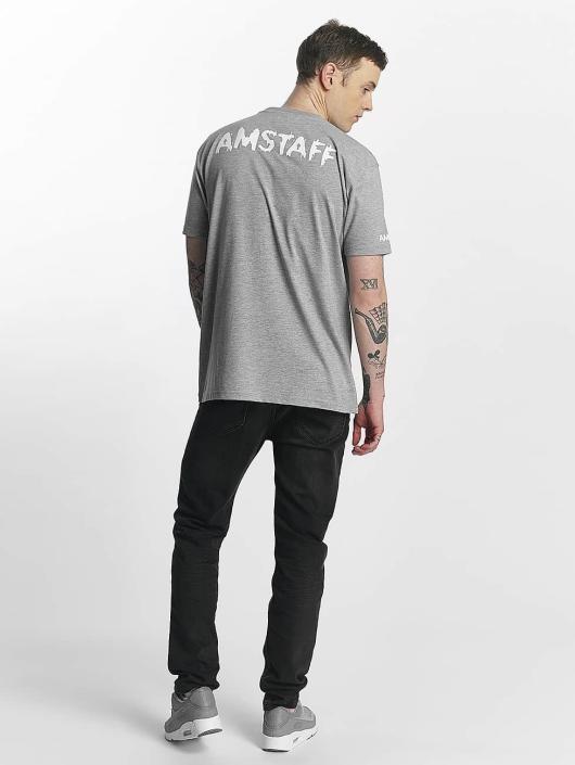 Amstaff T-Shirt Logo gris