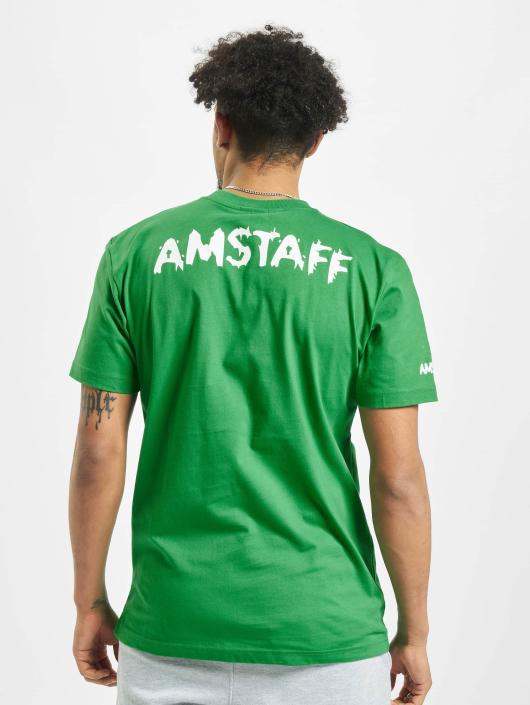Amstaff T-Shirt Logo grün