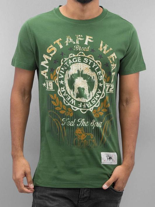 Amstaff T-Shirt Malex grün