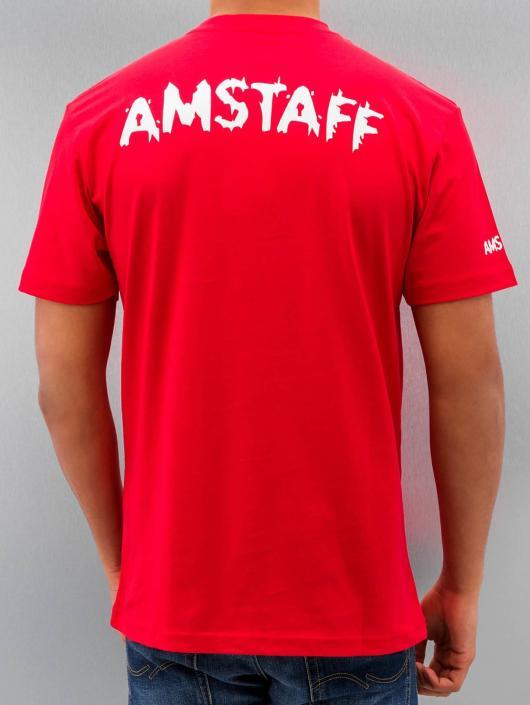 Amstaff t-shirt Logo rood