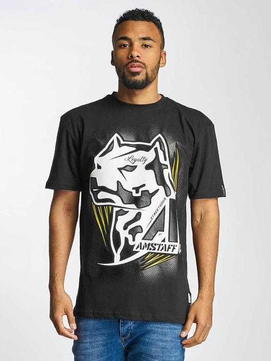 Amstaff T-Shirt Gunnes schwarz