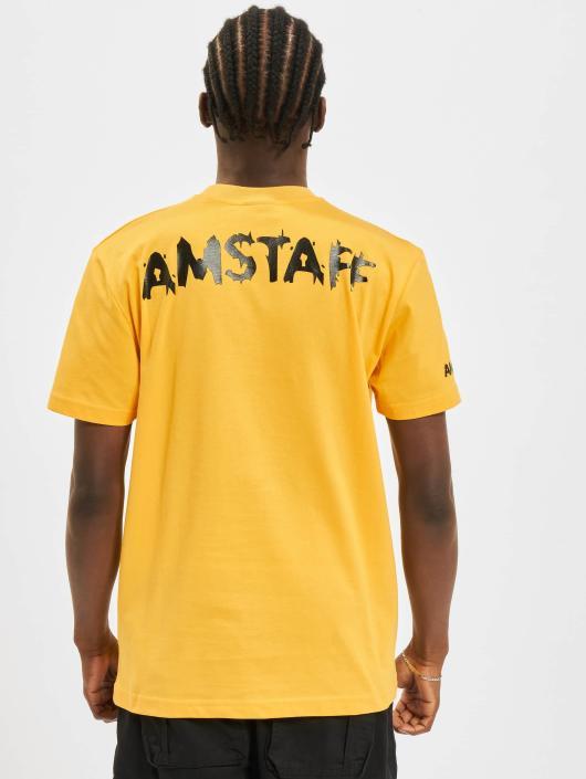 Amstaff T-Shirt Logo yellow