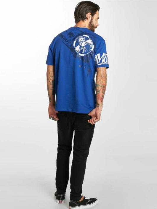 Amstaff T-Shirty Naku niebieski