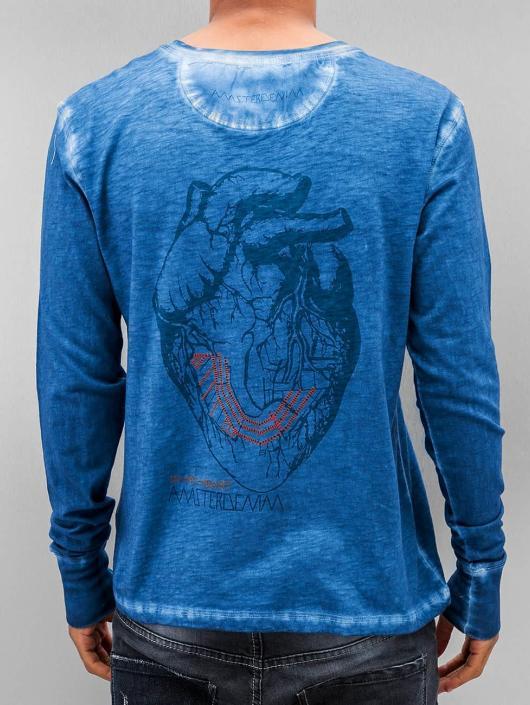 Amsterdenim Longsleeve Jeen Hart blue