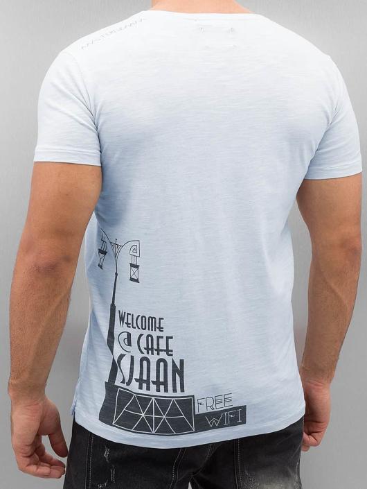 Amsterdenim T-Shirt Tommy Sjaan blue