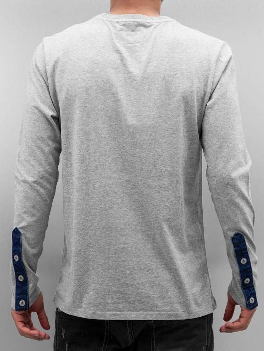 Amsterdenim Tričká dlhý rukáv Hendriku šedá