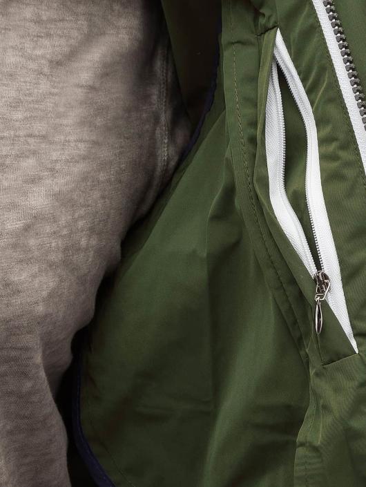 Amsterdenim Veste mi-saison légère Sander vert