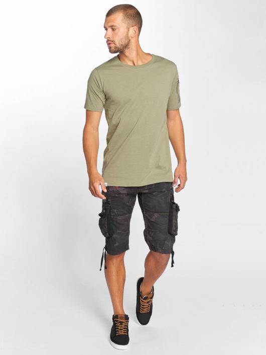 Anerkjendt Camiseta Rambo verde