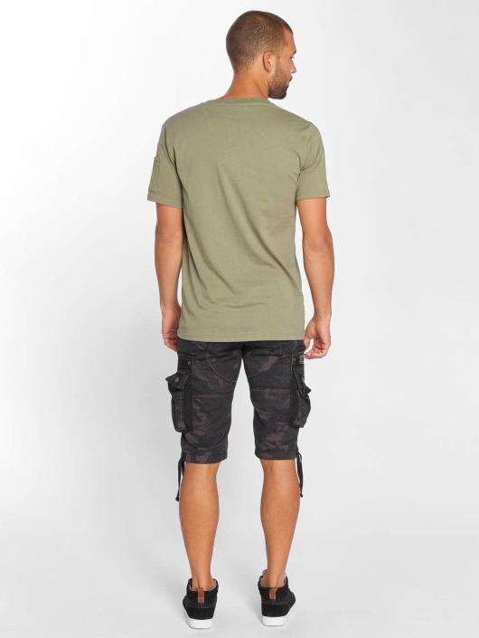 Anerkjendt T-paidat Rambo vihreä