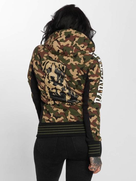 Babystaff Sweatvest Juva camouflage