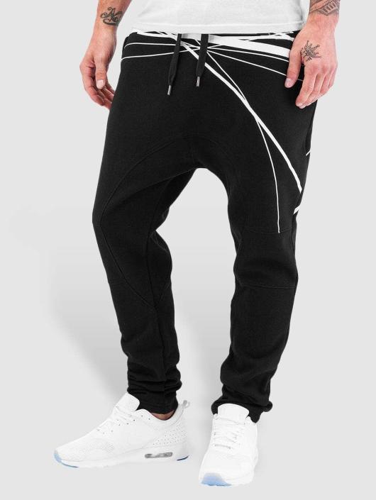 Bangastic Спортивные брюки WhiteStripes черный