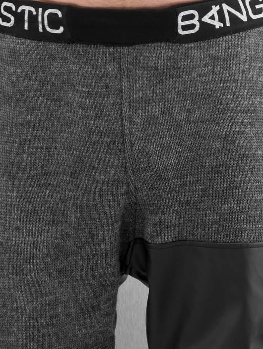 Bangastic Jogginghose Knit grau