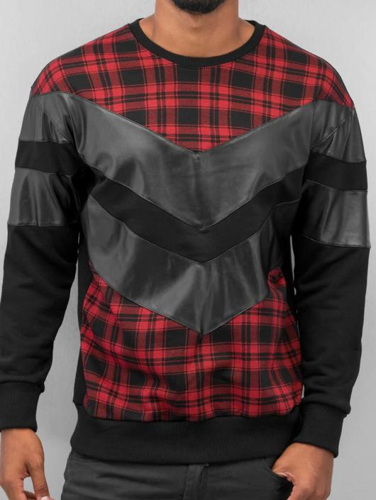 Bangastic Pullover Plaid schwarz