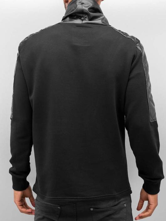 Bangastic Pullover PU Turtelneck schwarz