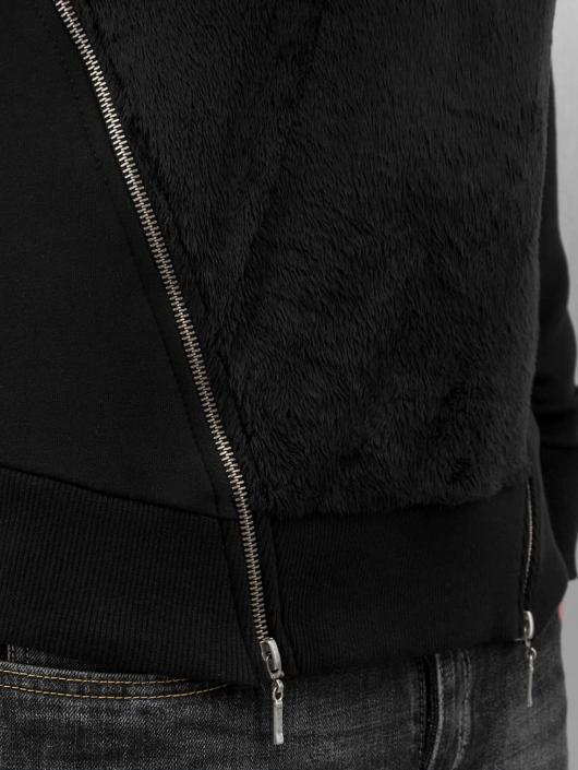 Bangastic Pullover Teddy schwarz