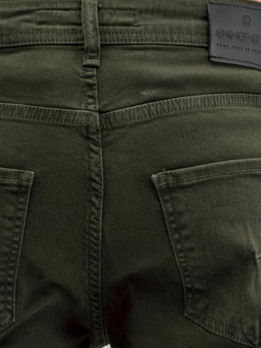 Bangastic Slim Fit Jeans Burundi oliv