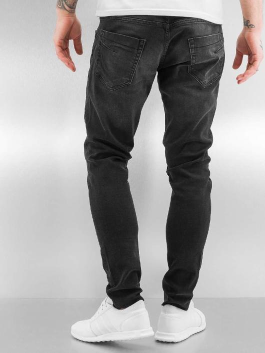 Bangastic Slim Fit Jeans A75 schwarz