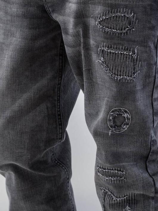 Bangastic Straight Fit Jeans Barbados grau