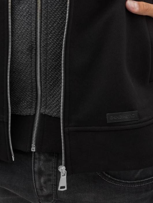 8fbfb4e83226 ... Bangastic Sweat capuche zippé Double noir ...