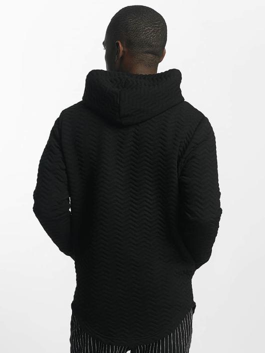 Bangastic Sweat capuche zippé Striped noir