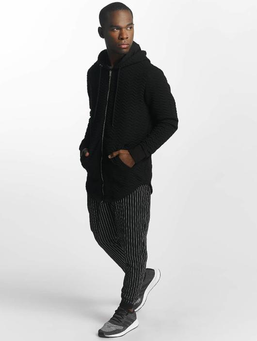 Bangastic Noir Homme Sweat Zippé 414789 Striped Capuche rCedBxo