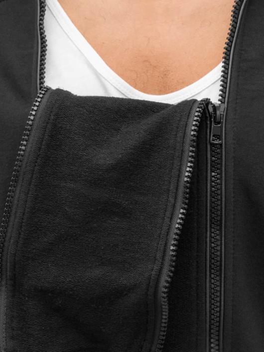 Bangastic Sweatvest Doppel Zip zwart