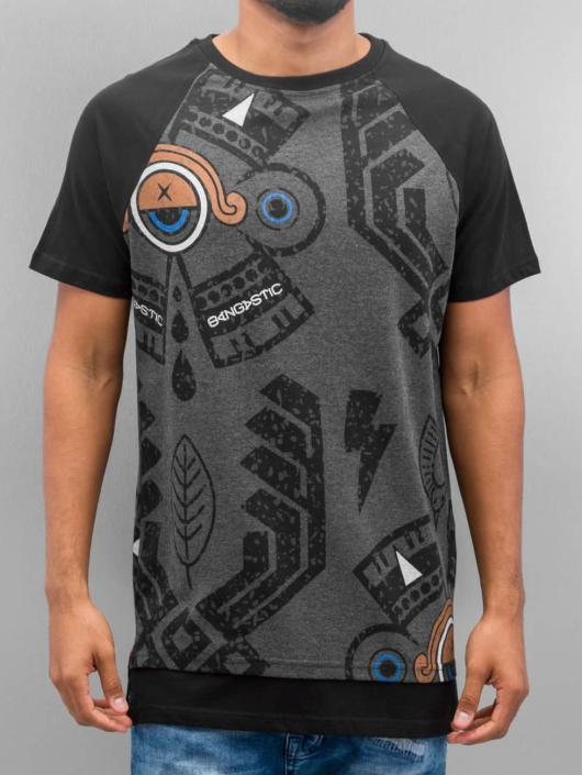 Bangastic T-Shirt India grau