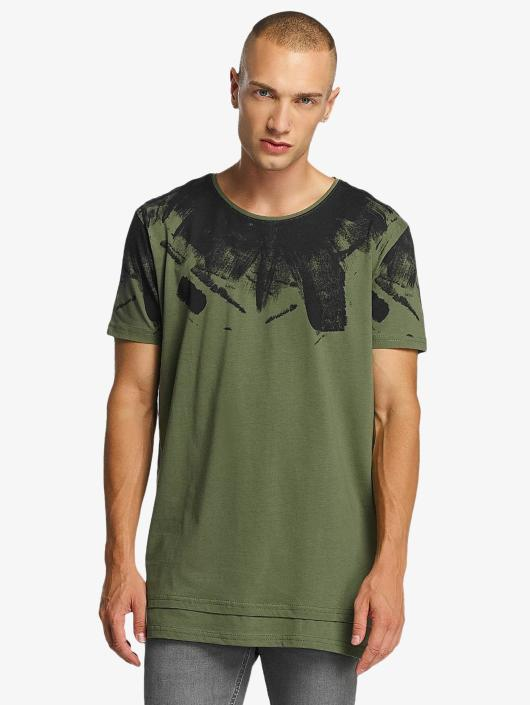 Bangastic T-Shirt Splash olive