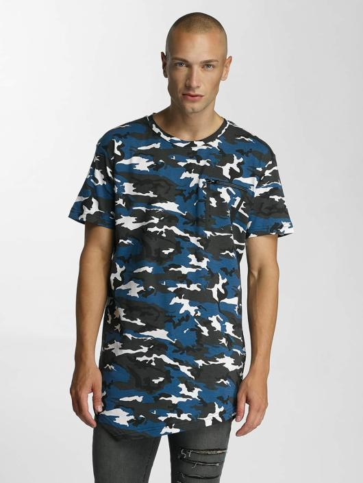 Bangastic T-Shirty Camo niebieski