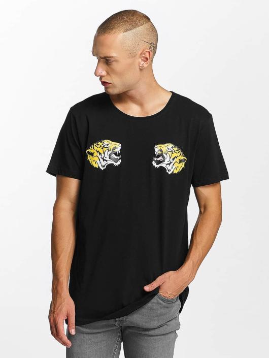 Bangastic Tričká Tiger èierna