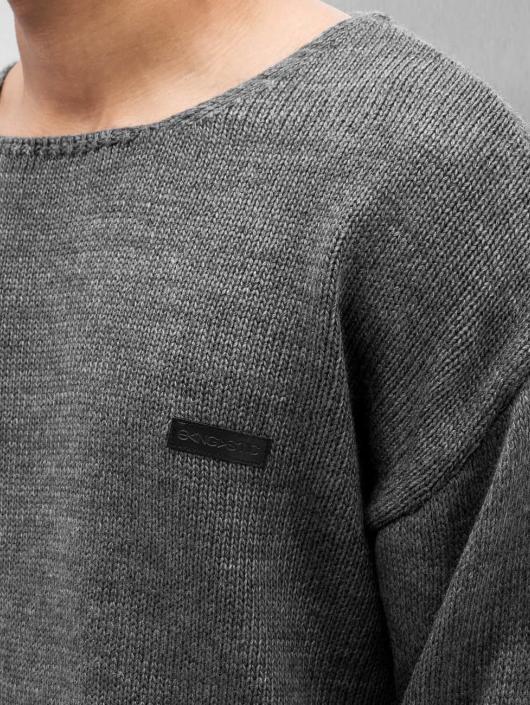 Bangastic trui Oversize Knit II grijs