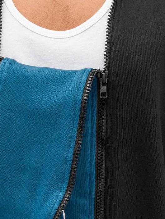Bangastic Zip Hoodie Doppel Zip II czarny