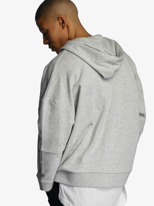 Bangastic Zip Hoodie AE463 Oversize grau